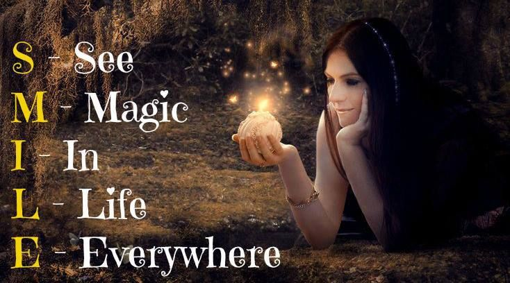 SMILE, see magic in life everywhere! www.expatpartnersuccess.com