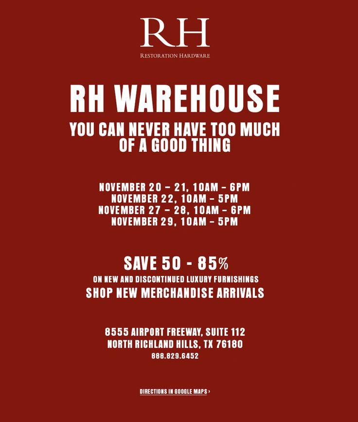 Warehouse Sale - North Richland Hills, TX