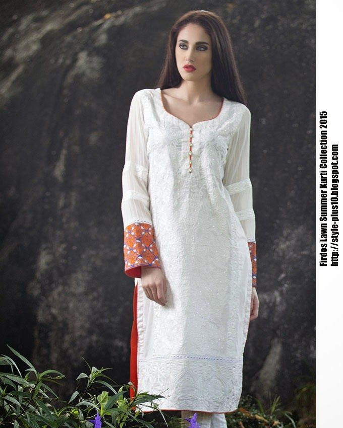 15-EXC-K2B From FIRDOUS Carnival Kurti Collection 2015
