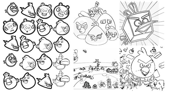 5 Cute Angry Birds Coloring Pages Your Toddler Will Love