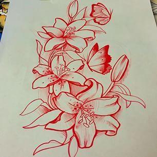 Resultado de imagem para flowers neotraditional