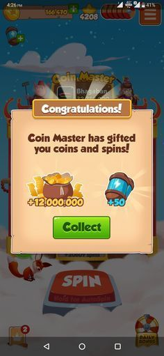 daily coin master spins