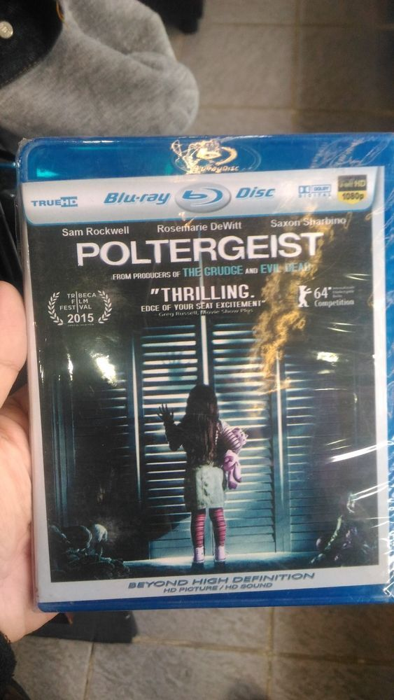 POLTERGEIST Blu-Ray HD Picture Free Shipping