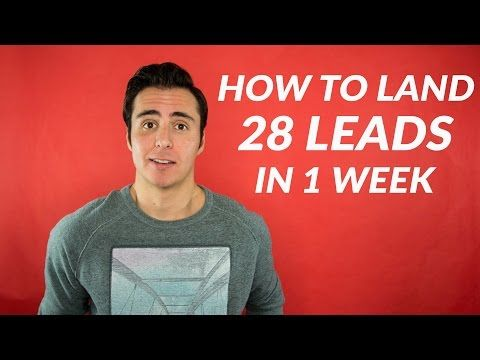 How To Land 28 Real Estate Leads In 1 Week! | Easy Agent Pro