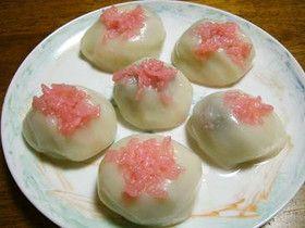 愛知の雛菓子♪いがまんじゅう