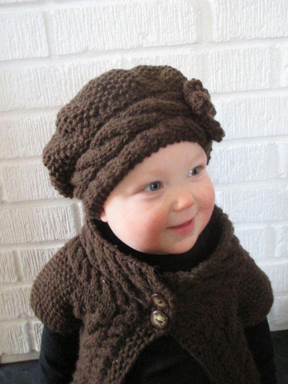 KNITTING PATTERN PDF Slouch Hat Baby Knit hat by KnotEnufKnitting, $4.50