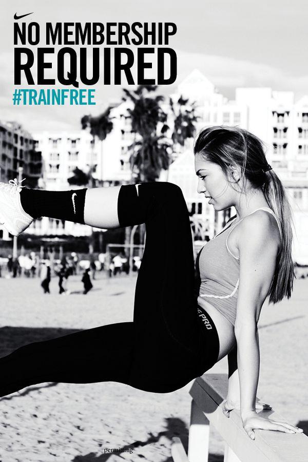 Let your city fuel your training. #trainfree #nike #inspiration #motivation