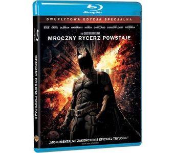 Mroczny Rycerz Powstaje. Edycja specjalna (2BD) The Dark Knight Rises [Blu-ray]