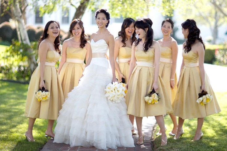 Yellow makes any event more cheery!