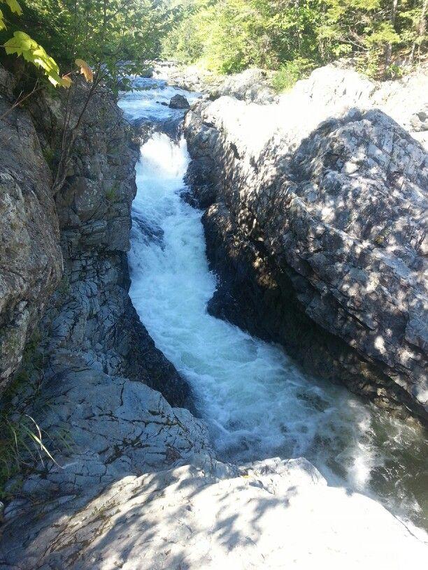 Crooked creek falls in Riverside-Albert NB | Waterfallin ...
