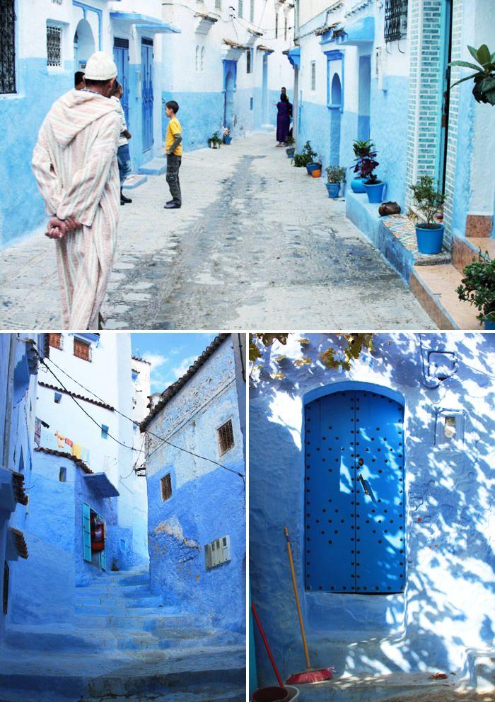 青く美しい迷宮の街シェフシャウエン