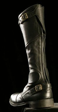 Bates leather Road Race Boot Tall (black) 5815 $250