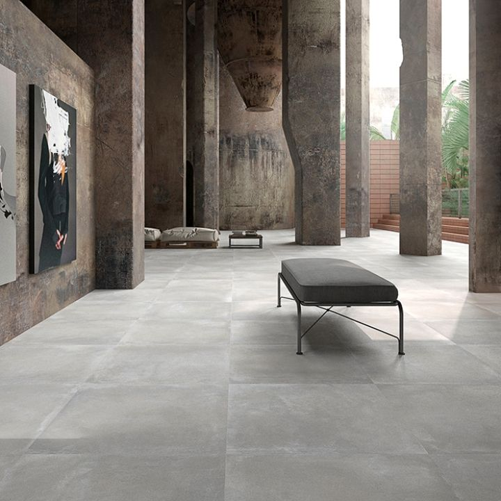 Stage Porcelain Grey Flooring Tiles Offer Sophisticated Grey Flooring With  A Matt Finish. These Large