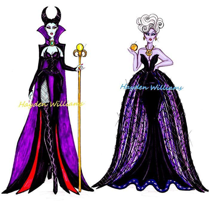 Ilustrações de moda da Disney | Just Lia