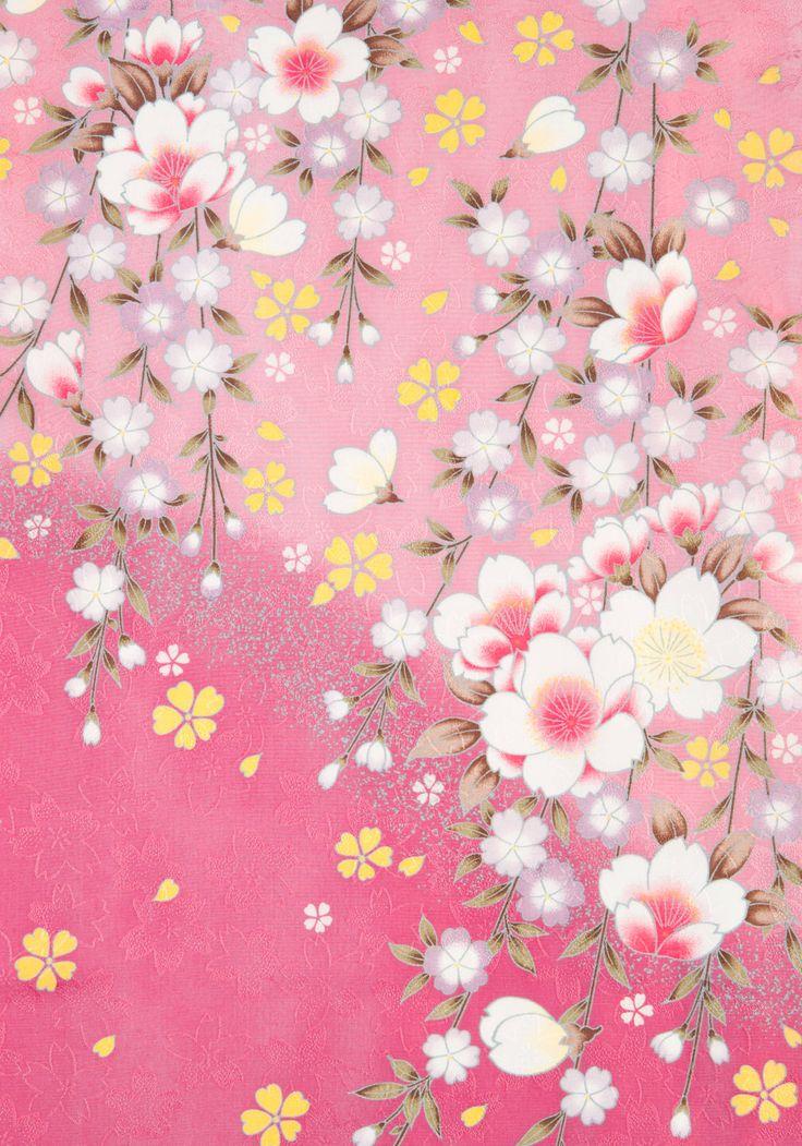 着物 No:769 商品名:ピンク 藤桜