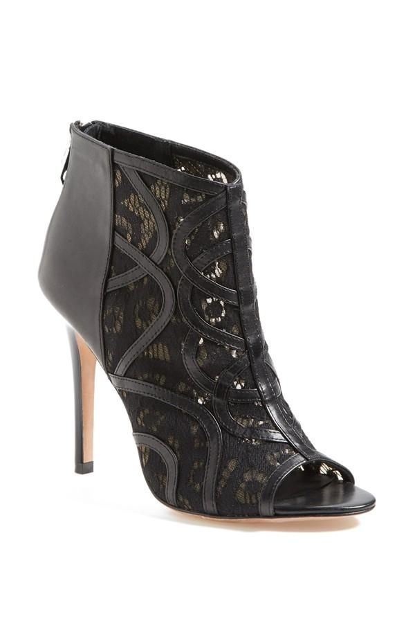 Love the lace! Bootie by Rebecca Minkoff