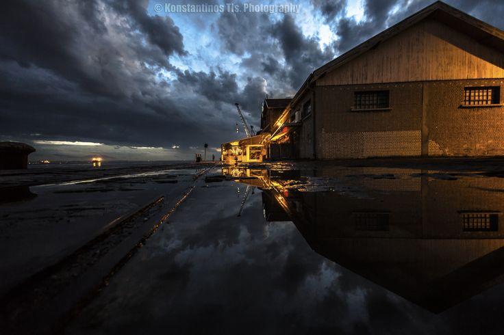 Photograph Harbor...Thessaloniki by Konstantinos Tls