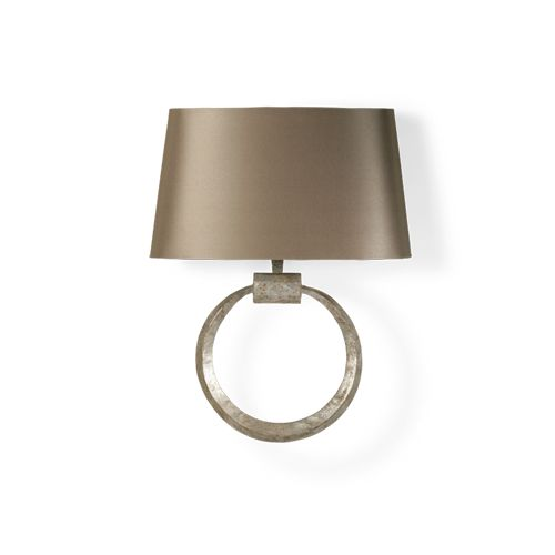 Porta Romana - TWL70, Metal Ring Wall Light - Decayed Silver