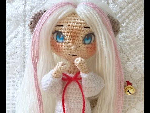 This video shows you how I apply my fabric doll eyes. I hope you'll find it helpful. You can purchase the eyes, crochet patterns and craft supplies from my s...