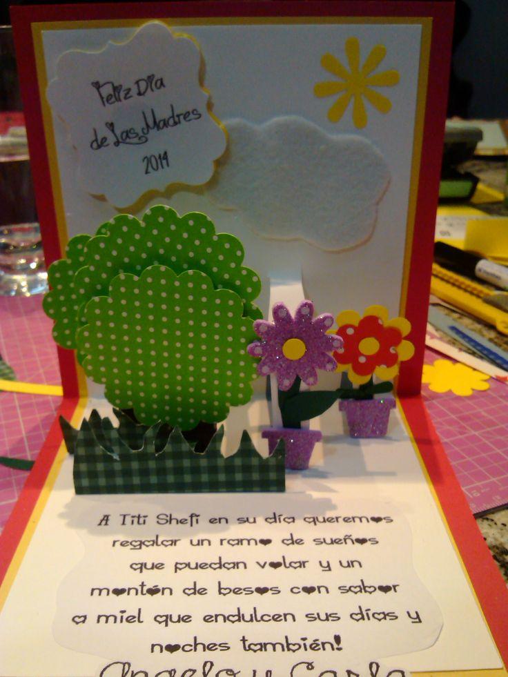 Pop Card Happy Mother's Day 2014  Tarjeta para las Titis del Dia de las Madres 2014