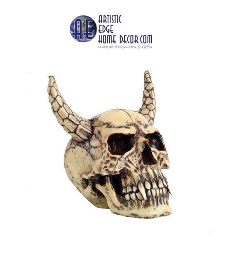 Demon Skull with Horns: Yes...its true. $29.95 More info to follow.
