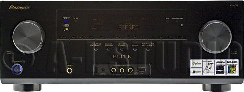 Pioneer Elite VSX-50 7.1-Channel 3-D Ready A/V Receiver by Pioneer. $449.00. .