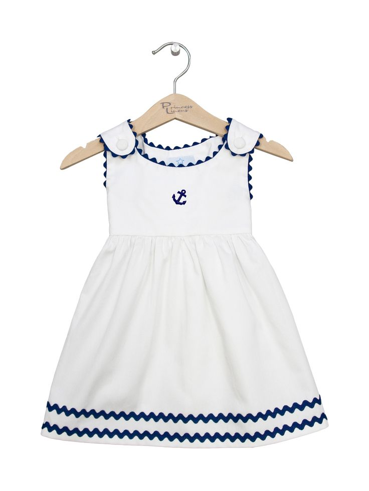 Ric Rac Pique Dress by Princess Linens at Gilt
