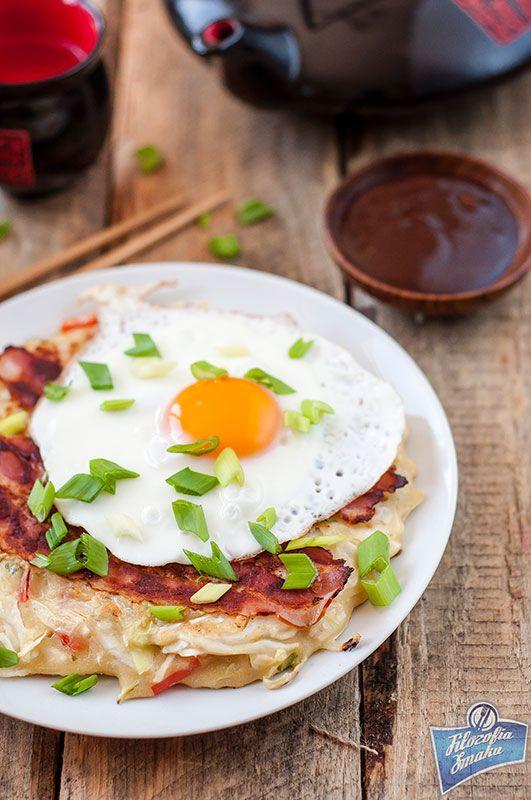 Okonomiyaki, japoński naleśnik   Filozofia Smaku