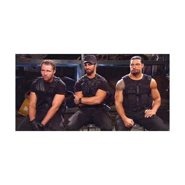 Video of The Shield Vs Ryback and Team Hell No video? - Wrestling... ❤ liked on Polyvore featuring wwe, pictures, dean ambrose, people and roman