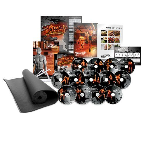 INSANITY DVD Workout - Deluxe Kit - http://www.burnbodyweight.com/insanity-dvd-workout-deluxe-kit/