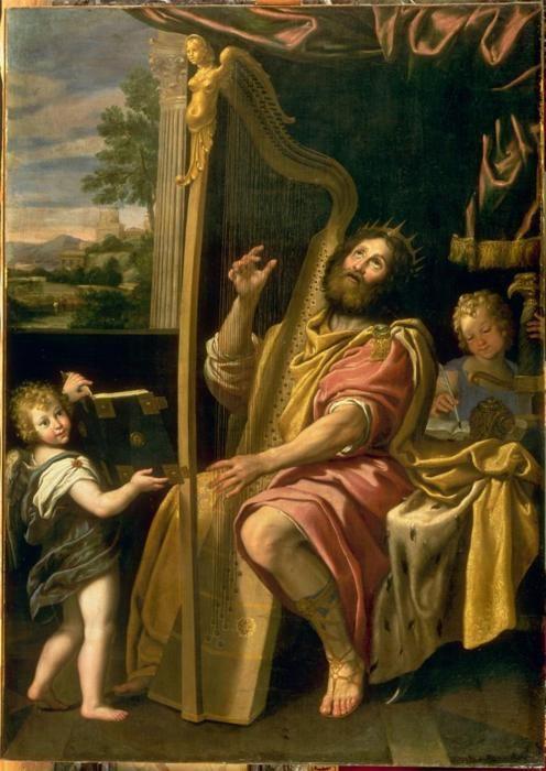 Domenico Zampieri (Domenichino), King David