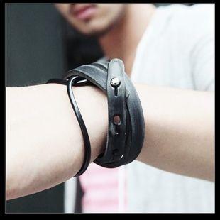 Корейский модные мужские аксессуары браслет браслет мужской браслет ювелирных изделий способа кожаные браслет мужской браслет мужчины кружил ...