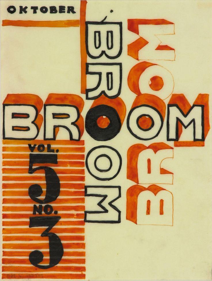 El lissitzky, broom, 1923