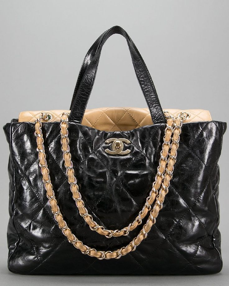 18d9290c0a82 Chanel -- Portobello Glazed Shopping Tote | Chanel handbags | Coco ...