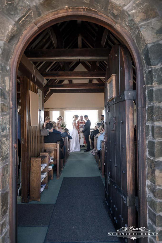 Wedding ceremony at the Church of the Good Shepherd, Lake Tekapo. Check out other wedding photography by Anthony Turnham at www.snapweddingphotography.co.nz