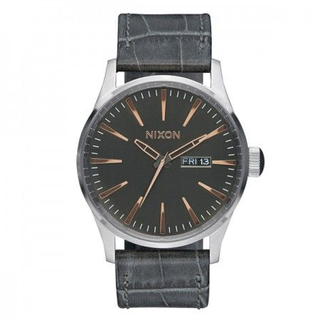 A1052145 Nixon Sentry Leather  Visit our store: www.watchworldindonesia.com