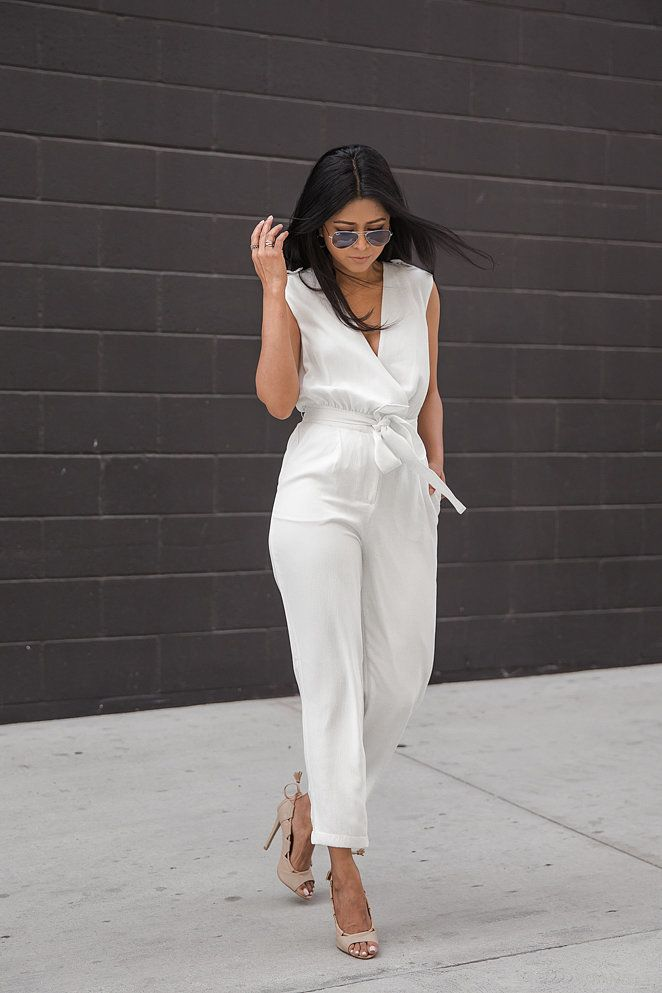 The Freshest Ways to Pull Off an All-White Outfit This Spring: You've seen the look everywhere.