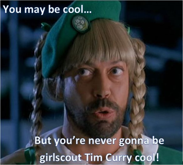 Tim Curry girlscout