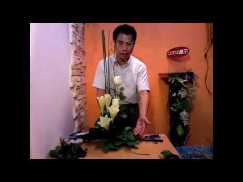 Gordon Lee/ flower arrangement video