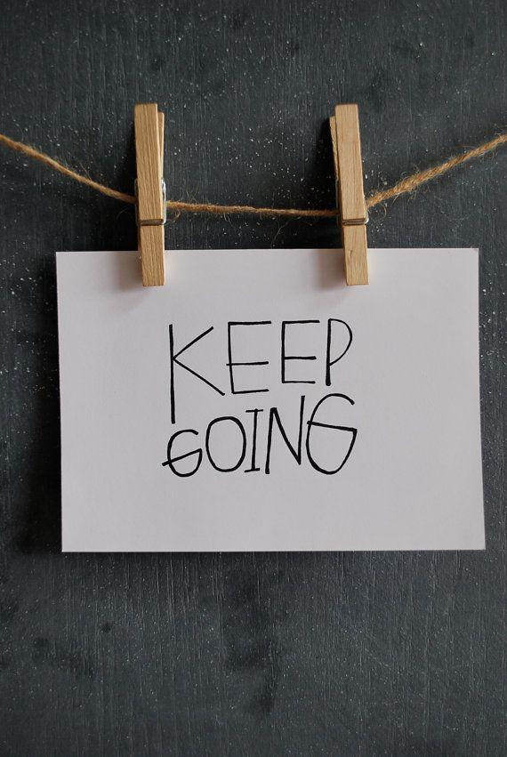 Keep Going #1