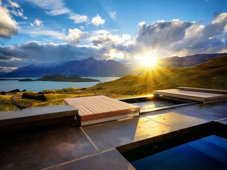 At Aro Hā, a Zen-inspired eco-retreat 40 minutes outside of Queenstown, you'll eat calorie-restricted vegetarian cuisine, hike through World Heritage parks, and get a daily massage. Cycle between the Finnish or infrared sauna and the cold plunge pool to complete a contrast-therapy circuit intended to stimulate circulation.