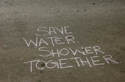Today will b the day I save water.