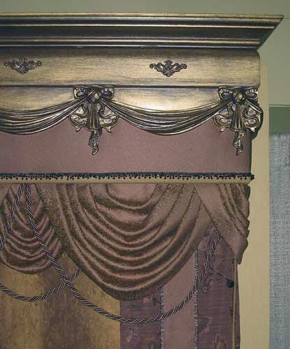 pictures of wooden window valances | ... valances our wood valances provide the final touch to any window