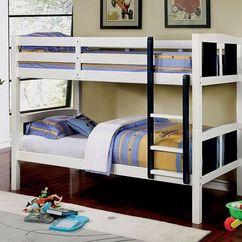 chelsea twotone twin bunk bed