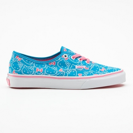 Vans Authentic Hello Kitty Hawaii VQER67B, roze vans schoenen | x-kds.com 3,5 jaar official online dealer, bekijk nu winter 2012.