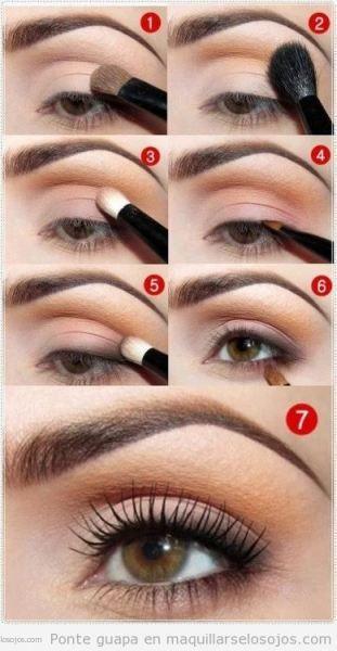 Maquillaje ojos natual diario paso a paso