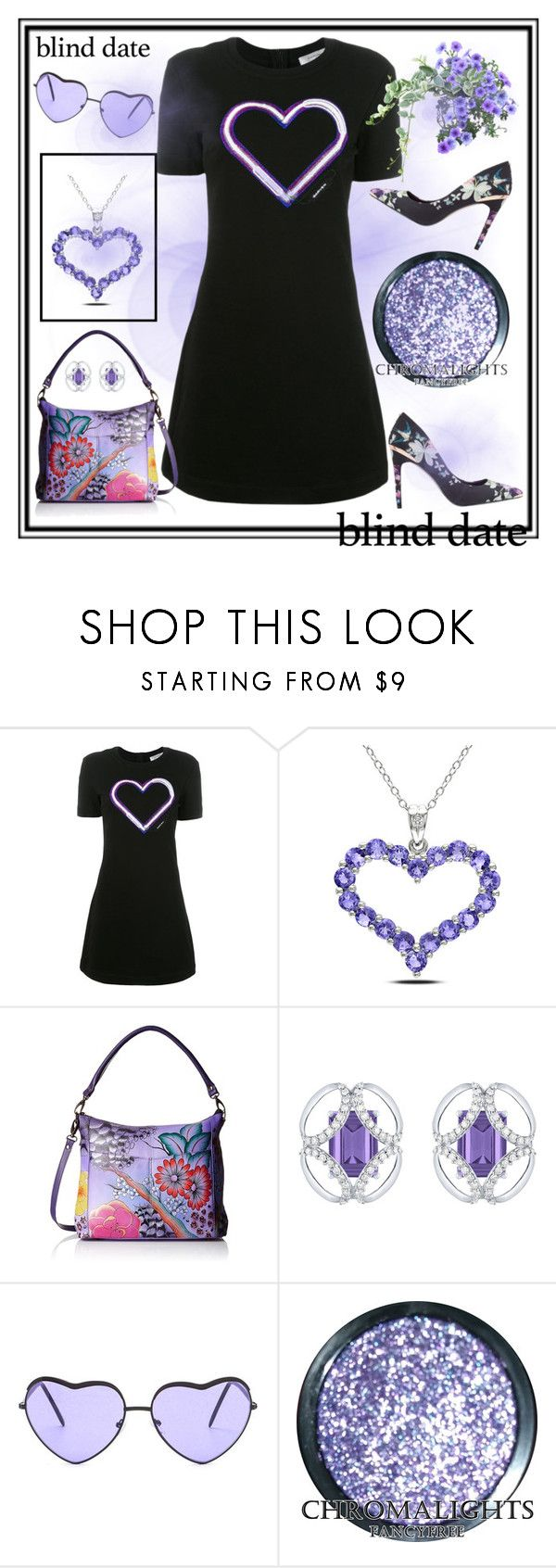 """""""Dress to impress:Blind date"""" by amisha73 ❤ liked on Polyvore featuring Carven, Miadora, Anuschka, Arya Esha and blinddate"""