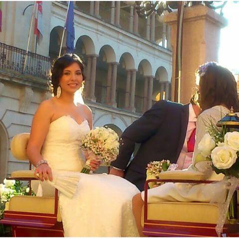¡Comenzamos el lunes con Inma! Una espectacular novia #byManuGarcía ¡Felicidades!