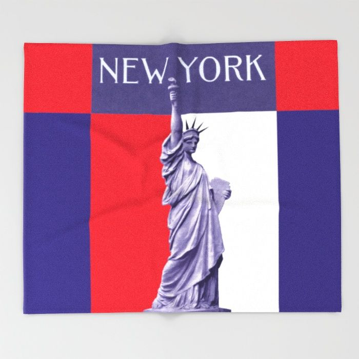 Liberty is found in Peace Throw Blanket