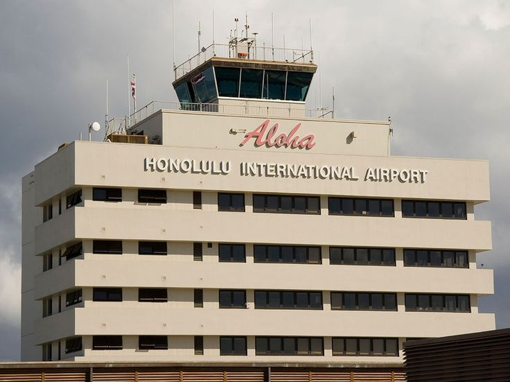 Fun fact: Hawaii doesn't have specific state welcome signs on its highways; instead, they're located at Hawaiian airports, like the one in Honolulu.